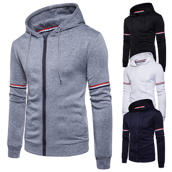 Autumn Zipper Sports Jacket Hoodies Men Classical Sportwear Hoody Pullovers Casual Sweatshirt Zip Up Hoodie Mens Trend Tracksuit