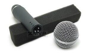 Image 5 - 10 sztuk/partii wysokiej jakości SM58LC profesjonalny dynamiczny przewodowy mikrofon kardioidalny 58LC Mic dla wydajności na żywo wokal etap Karaoke