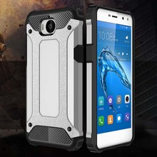 Armor Coque Cover 5.0For Huawei Y6 2017 Case For Huawei Y6 Y5 2017 Nova Young Honor Play 6 III 3 Phone Back Coque Cover Case