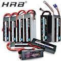 HRB Lipo 2S 7.4V 3S 11.1V 5000mah 4S 14.8V 6S 22.2V batteria 1800mah 2200mah 2600mah 3300mah 4200mah 6000mah 1/10 Car Hubsan H501