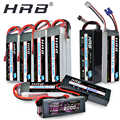 HRB Lipo 2S 7.4V 3S 11.1V 5000mah 4S 14.8V 6S 22.2V batterie 1800mah 2200mah 2600mah 3300mah 4200mah 6000mah 1/10 mah Hubsan H501