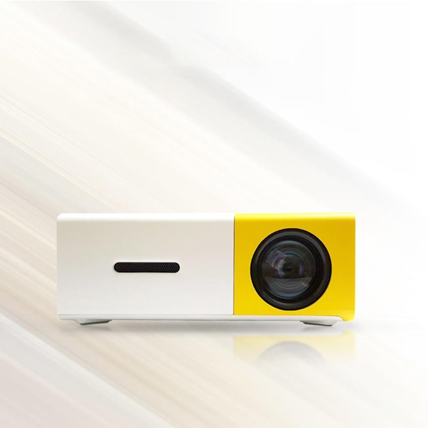 Projecteur de poche, Mini projecteur, 400-600 lumens prise en charge HD 1080P HDMI/VCVBS/TF/AV/USB, ordinateur portable/téléphone pour cinéma maison