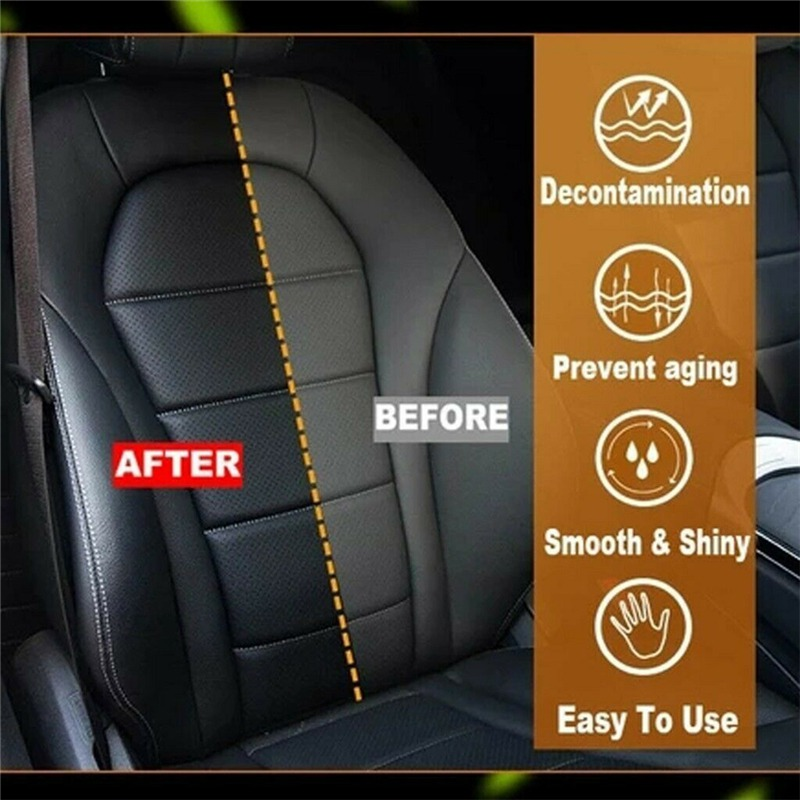 Car Exterior Accessories Auto Leather Renovated Coating Paste Maintenance Agent 50ml