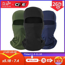 Motorcycle Balaclava Full Face Cover Warmer Windproof Breathable Motorbike Motocross Cycling Biker Cycling Anti UV Men Helmet