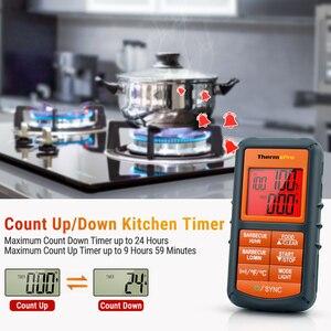 Image 5 - ThermoPro TP 08S Remote Drahtlose Lebensmittel Küche Thermometer Remote BBQ, Raucher, Grill, Backofen, fleisch Monitore Lebensmittel Aus 300 Meter Entfernt