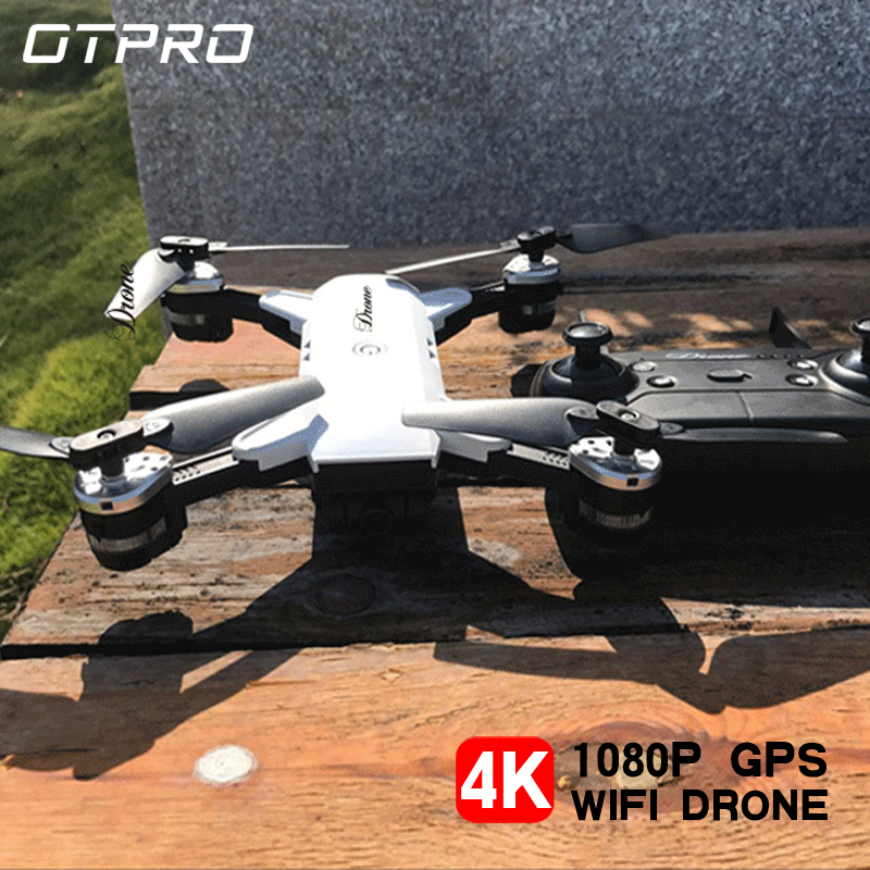 OTPRO H19S quadrirotor avec caméra mini drone gps 4k rc hélicoptère drones avec caméra hd professionnel VS E520S S167 SG901 jouets
