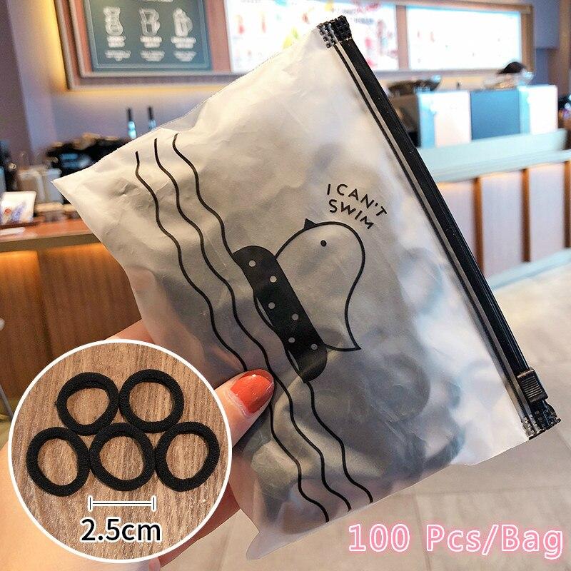 Black-100 Pcs-Bag