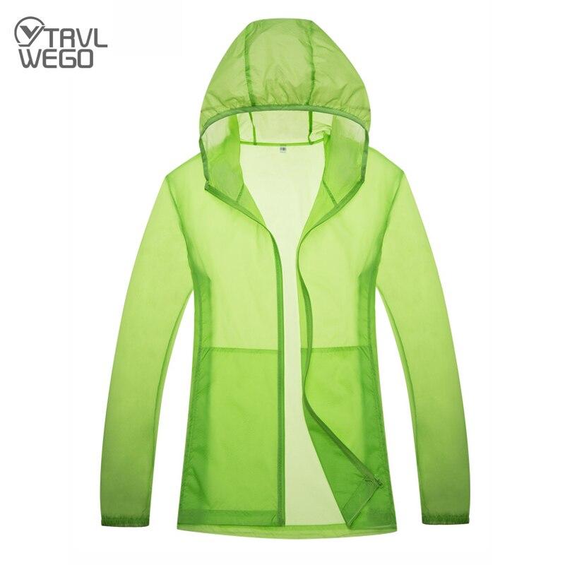 TRVLWEGO мужские и женские быстросохнущие походные куртки для занятий спортом на открытом воздухе, защита от пыли, защита от дождя и УФ-лучей, од...
