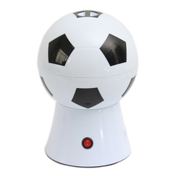 World Cup Creative Gifts Home Football Electric Popcorn Machine Childrens Food Small Puffing Machine with EU Plug