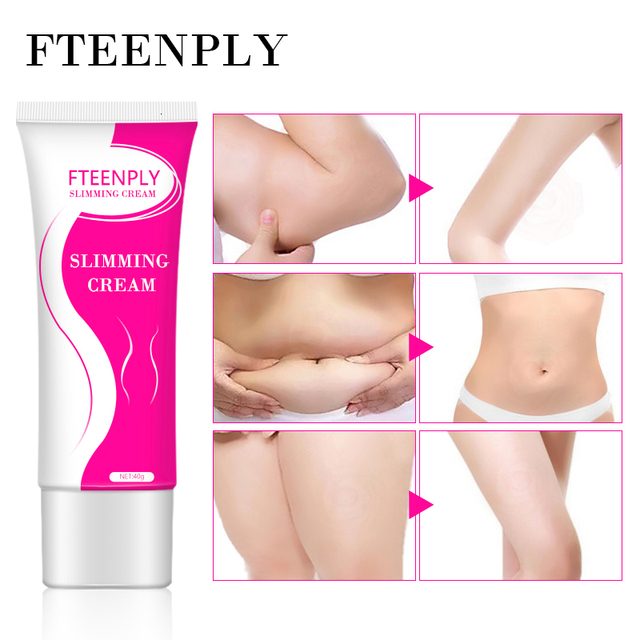 FTEENPLY Slimming Cream Cellulite Removal Weight Loss Creams Skin Firming Lifting Nourishing Body Care Fat Burning Gel 40g 3