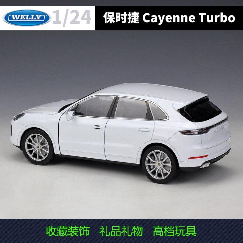 welly 124 porsche cayenne turbo liga modelo 02