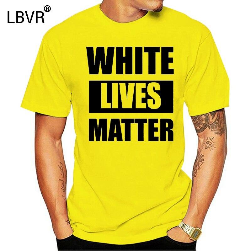 Белая живая вещь, смешной юмор, BLM, поддержка равноправия, все жизни, новая футболка