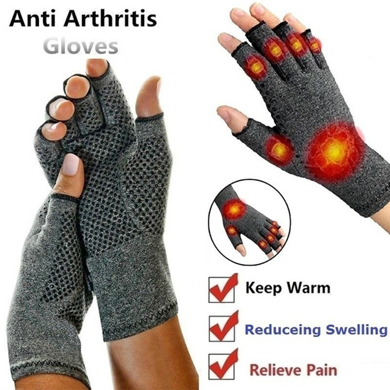 H307628264e214cf0ae33ff90d6c7c264p - 1 Pairs Arthritis Gloves Touch Screen Gloves Anti Arthritis Therapy Compression Gloves and Ache Pain Joint Relief Winter Warm