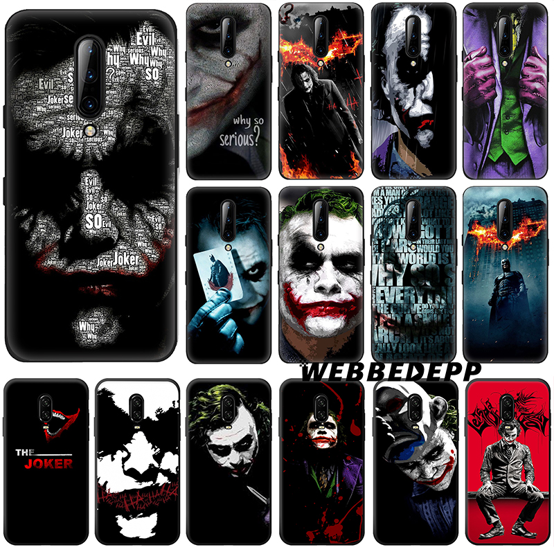The Dark Knight Joker Soft Silicone Case for <font><b>Oneplus</b></font> One Plus 7 Pro 6t 6 5t <font><b>5</b></font> <font><b>A5000</b></font> Phone Cover for <font><b>Oneplus</b></font> 7 Pro image
