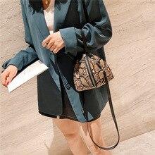 LADSOUL Luxury Handbags Messenger Bags Leopard Print Womens Trend Large Capacity Leather Shoulder Bag Messenger Bag Lady Bags