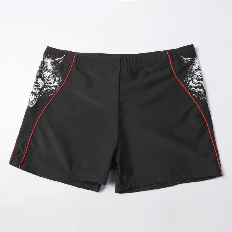 Plus Size Heren Zwembroek Beroep Badmode Zwemmen Shorts Man Badpak Zwemmen Slips Ademend Boxer Board Strand Baden