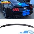 Спойлер для багажника Ford Mustang GT  матовый черный  АБС-пластик  подходит для 15-19 Ford Mustang GT Factory style  глобальная бесплатная доставка по всему миру