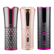 Hair Curler Rotating-Styling-Tools Ceramic Cordless Auto Portable USB