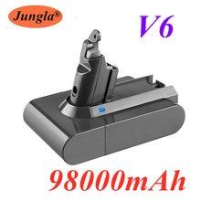 2020s 98000mAh 21.6V Bateria Li-ion para Dyson 6.8Ah V6 DC58 DC59 DC61 DC62 DC74 SV09 SV07 SV03 965874-02 Bateria Aspirador de pó