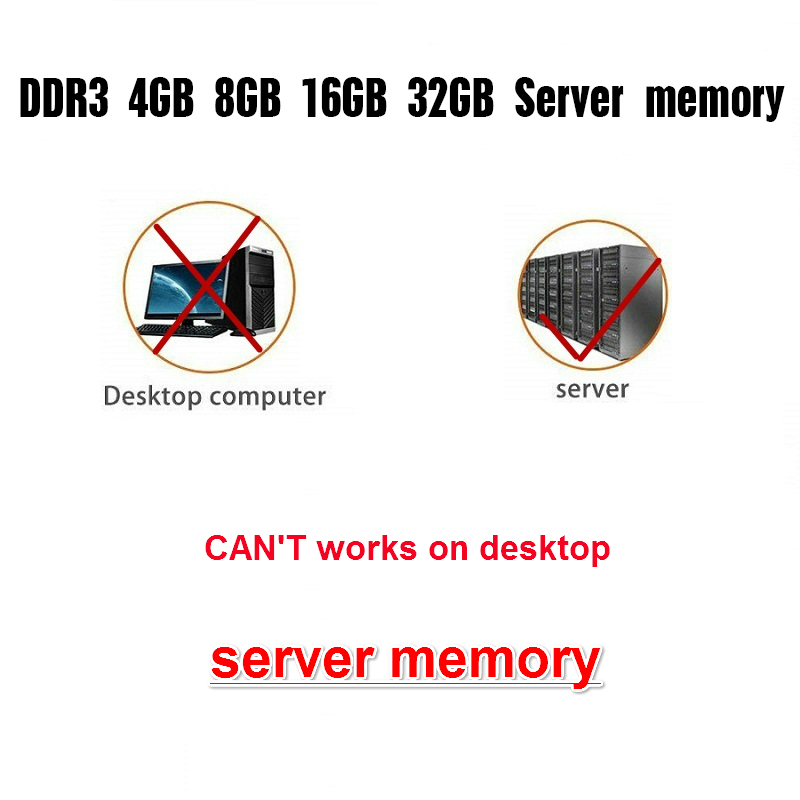 Hot DealsMemory-Ram Server REG 1333 1866 1600mhz 8gb Ddr3 ECC 16GB 4GB 32GB X58x79 Original