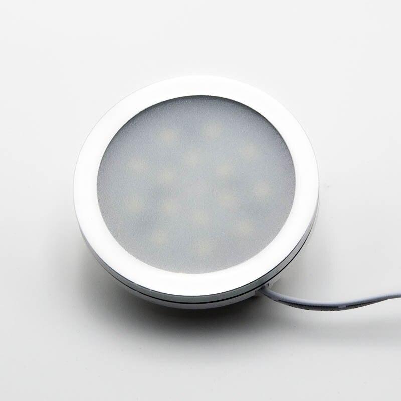 12V 24V Ultra-thin Small Spotlights Cabinet Lights Spot Home Display Window Display LED Focus Panel Light 3W Mini Downlight