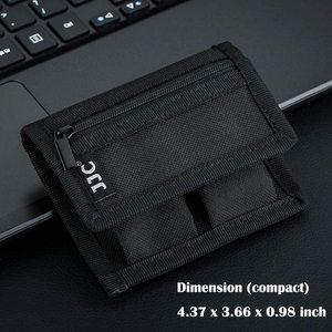 Image 5 - LP E6 LP E6N LP E6NH Battery Pouch Bag Memory Card Case for SD CF XQD for Canon EOS R R6 R5 Ra 90D 80D 6D mark II 5D Mark III IV