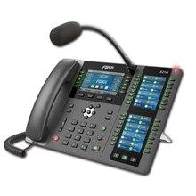 Fanvil X210i высококлассный корпоративный IP телефон+ микрофон VoIP беспроводной телефон визуализация подкачки консоль телефон HD аудио видео вызов