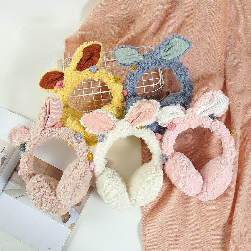 Women's Cute Winter Earmuffs Plush Earmuff