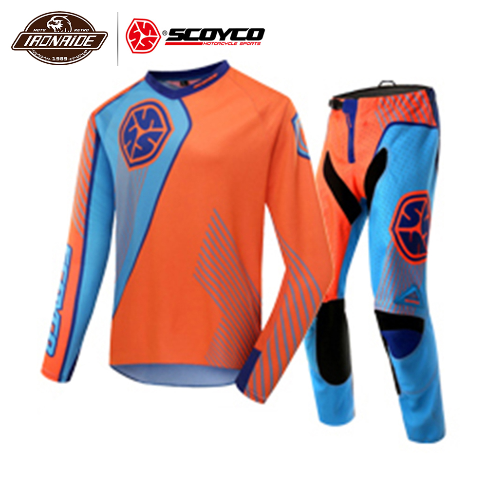 Clearance SCOYCO Summer Motocross Suit Motorcycle Jacket Motocross Jacket Motorcycle Jersey Professional Racing T-Shirt#