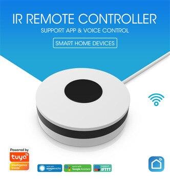 WiFi IR Remote Control Universal Intelligent Smart Remote Controller  Switch 360degree Smart Home Automation Mi smart sensor geeklink extension intelligent controller smart home automation wireless switch wifi rf ir remote control via ios android