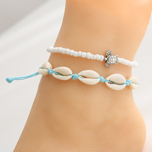 Anklets for Women shell Foot Jewelry Summer Beach Barefoot Bracelet ankle on leg Ankle strap Bohemian Accessories anklets
