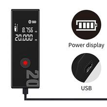 Mini 40 Meter Laser RangeFinder Lithium battery Class2 Handheld Distance Digital Range Finder Electronic Ruler Room