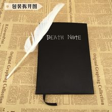 2019 Death Note Planner Anime Buku Harian Kartun Buku Yang Indah Tema Fashion Ryuk Cosplay Besar Mati Catatan Menulis Jurnal Notebook(China)