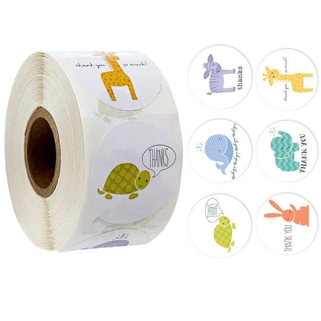 500 Pcs/roll Adesivi Ricompensa per Gli Insegnanti Divertimento Motivazionale & Incentivo Adesivi per I Bambini Alla Moda Animale Meme Giocattoli Adesivi