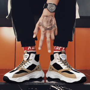Image 3 - BIGFIRSE אופנה נעליים לגברים מותג מגמת חיצוני מגמת נעלי גבר פנאי נעלי סתיו Zapatillas Hombre 2019 גברים סניקרס