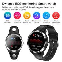 24 heures moniteur dynamique ECG PPG HRV montre intelligente 2021 IP68 moniteur de sommeil intelligent Fitness Tracker pour hommes femmes père mère