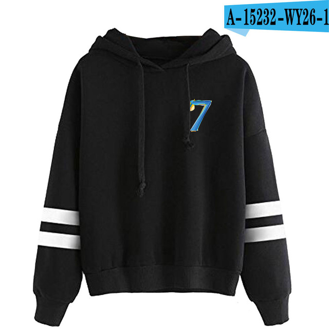 MAP OF THE SOUL 7 STRIPED HOODIE (31 VARIAN)