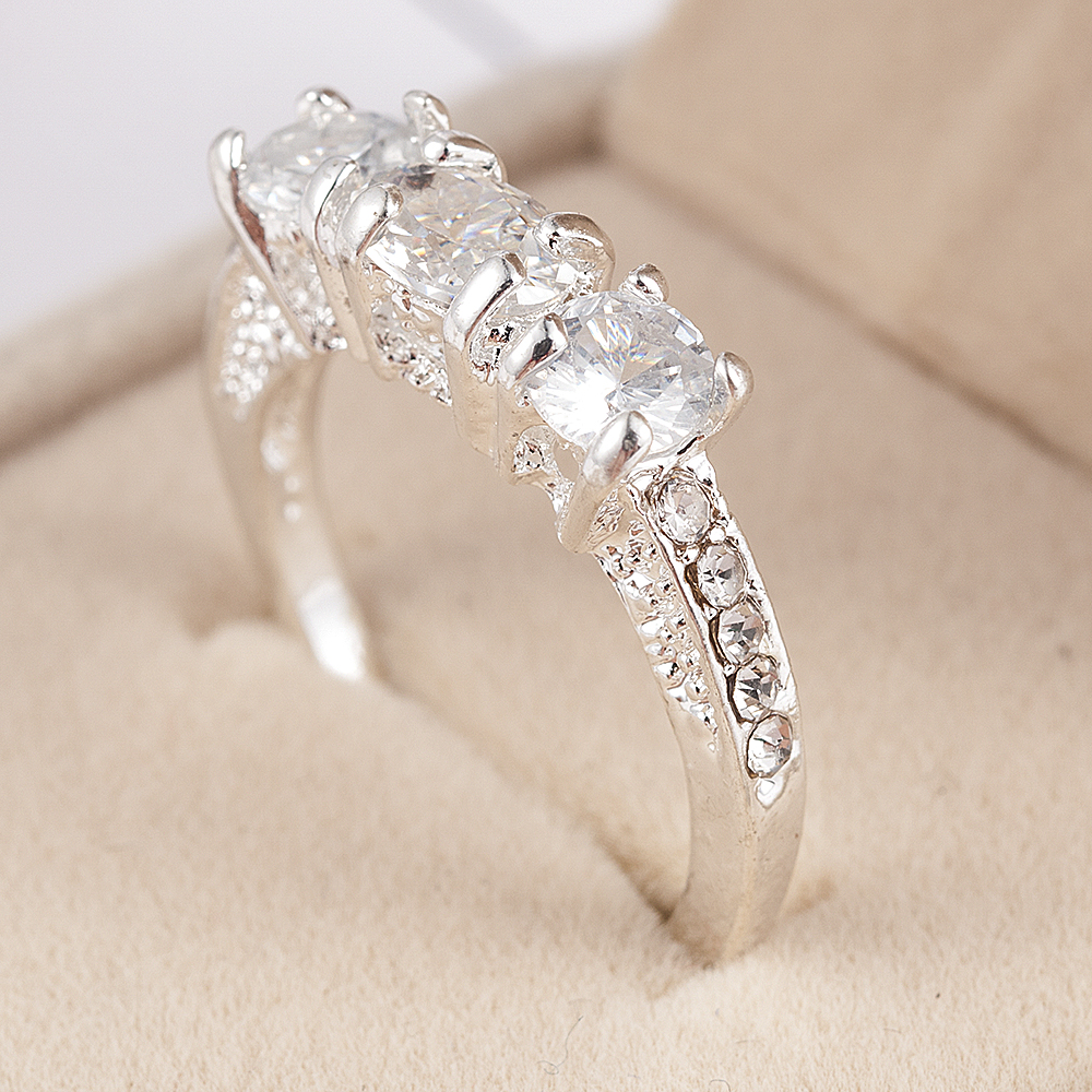 2020 NEW Crystal Ring Female Anelli Bijoux Anillos Wedding Engagement Rings For Women Anel Jewelry