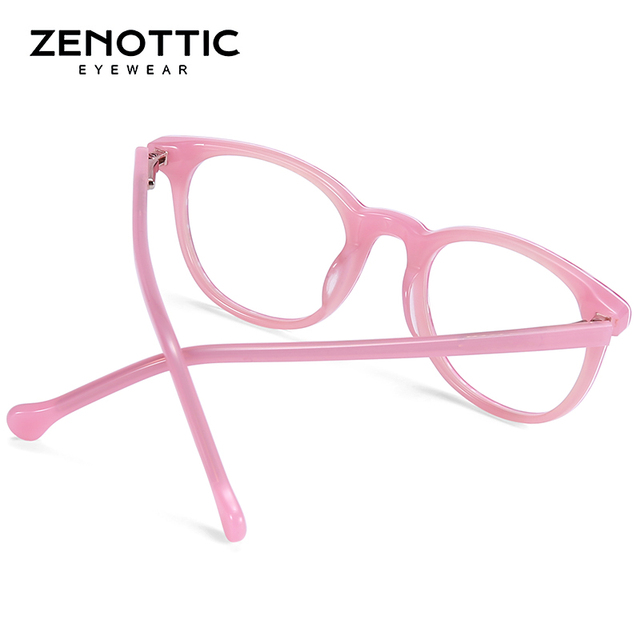 ZENOTTIC Optical Pink Cute Eyeglasses  5