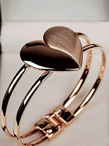 Bracelets Armband Women Lady New-Fashion Heart for Elegant Pulseras Mujer
