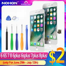 NOHON Screen For iPhone 6 6S 7 8 Plus LCD For iPhone 6Plus 7Plus Display Screen Replacment Original Full Assembly 3D Digitizer