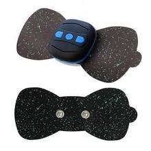 Parche de masaje corporal, masajeador de carga, Mini pegatinas de masaje portátil, calcomanías para el cuello, vértebra Cervical, instrumento de fisioterapia
