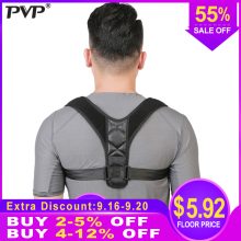 Upper Back Posture Corrector Clavicle Support Straight Shoulders Brace Strap Correctpor Health Care