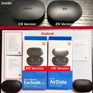Image 5 - Original Xiaomi Redmi Airdots s TWS Xiaomi Wireless earphone Voice control Bluetooth 5.0 Noise reduction Tap Control