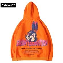 Hip Hop Rabbit printing Hoodies Mens 2019 Autumn harajuku Casual Pullover Sweats Hoodie Male Fashion Skateboards Sweatshirts цены