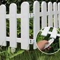5 шт пластиковый забор внутренний сад забор детский сад Цветочный Сад Овощной маленький забор DIY Рождественское украшение