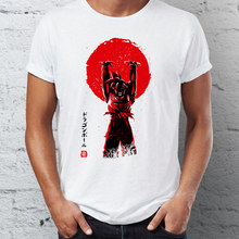 Marvel Mannen T Shirts Dragon Ball Goku Genkidama Awesome Anime Tee Zomer/Herfst O-hals T-shirts Voor Volwassen(China)