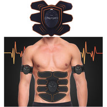 Wireless Spierstimulator Trainer Oefening Apparatuur Gym Fitness Apparatuur Ab Stimulator Premium Abs Gewicht Sets(China)