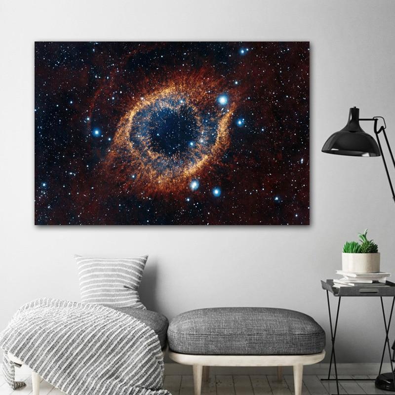 Universum Raum Und Sterne Starry Sky Planet Poster Drucke Wohnkultur Leinwand Malerei Wand Kunst Bilder Für Wohnzimmer Keine rahmen