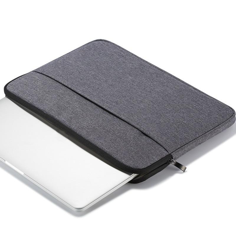10.9-11inchDark Gray Black Case For iPad Pro 11 A1980 A2013 A1934 Cover Tablet Zipper Sleeve Pouch Bag iPad Air4